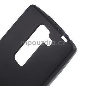 Matný gélový kryt na LG G4c H525n - čierny - 3
