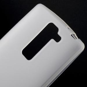Matný gélový kryt na LG G4c H525n - bilý - 3