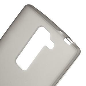 Matný gélový kryt na LG G4c H525n - šedý - 3