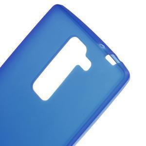 Matný gélový kryt pre LG G4c H525n - modrý - 3
