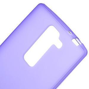 Matný gélový kryt na LG G4c H525n - fialový - 3