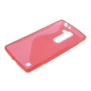 Červený gélový obal S-line na LG G4c H525n - 3
