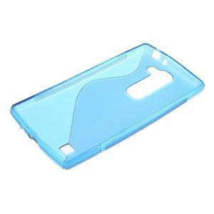 Modrý gélový obal S-line na LG G4c H525n - 3