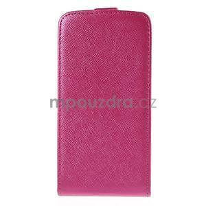 Flipové puzdro pre Samsung Galaxy J5 - rose - 3