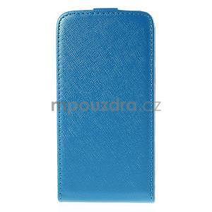 Flipové pouzdro na Samsung Galaxy J5 - modré - 3