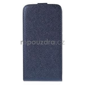 Flipové pouzdro na Samsung Galaxy J5 - tmavě modré - 3