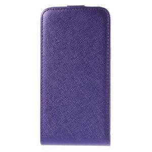 Flipové pouzdro na Samsung Galaxy J5 - fialové - 3