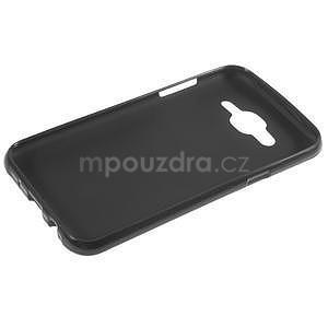 Matný gélový obal Samsung Galaxy J5 - čierný - 3