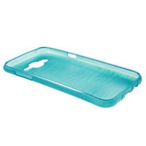 Broušený gelový obal na Samsung Galaxy J5 - tyrkysový - 3