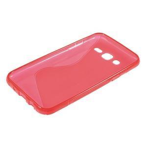 S-line gélový kryt pre Samsung Galaxy J5 - červený - 3
