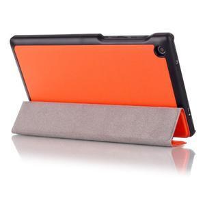 Polohovatelné pouzdro na tablet Lenovo Tab 2 A7-30 - oranžové - 3