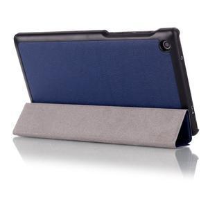 Polohovatelné pouzdro na tablet Lenovo Tab 2 A7-30 - tmavěmodré - 3