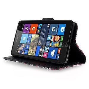 Safety puzdro pre mobil Microsoft Lumia 535 - motýľe - 3
