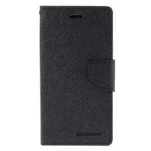 Diary štýlové puzdro na Asus Zenfone 2 Laser - čierne - 3