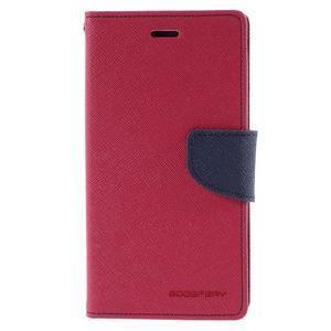 Diary štýlové puzdro na Asus Zenfone 2 Laser - rose - 3