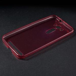 Ultra Tenký slim obal na Asus Zenfone 2 Laser - červený - 3