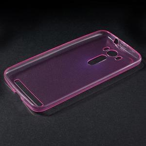 Ultra Tenký slim obal na Asus Zenfone 2 Laser - rose - 3
