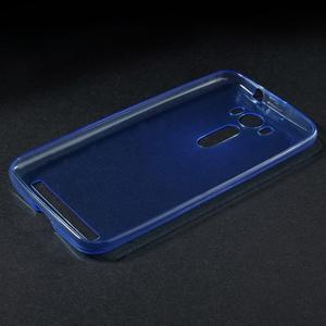 Ultra Tenký slim obal na Asus Zenfone 2 Laser - modrý - 3