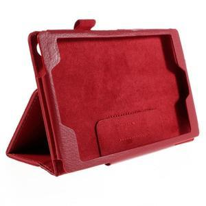 Koženkové puzdro na tablet Asus ZenPad 7.0 Z370CG - červené - 3