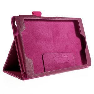 Koženkové puzdro pre tablet Asus ZenPad 7.0 Z370CG - rose - 3