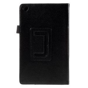 Koženkové puzdro pre tablet Asus ZenPad 7.0 Z370CG - čierne - 3