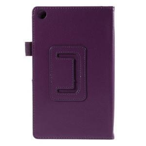 Koženkové puzdro na tablet Asus ZenPad 7.0 Z370CG - fialové - 3