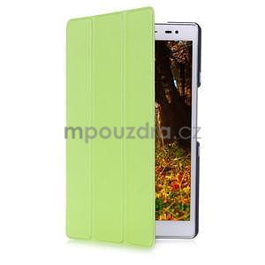 Trojpolohové puzdro pre tablet Asus ZenPad 8.0 Z380C - zelené - 3