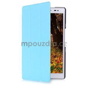 Trojpolohové puzdro na tablet Asus ZenPad 8.0 Z380C - svetlemodré - 3