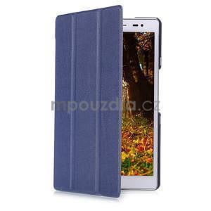 Trojpolohové puzdro na tablet Asus ZenPad 8.0 Z380C - tmavomodré - 3