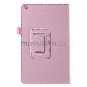Safety polohovateľné puzdro pre tablet Asus ZenPad 8.0 Z380C - ružové - 3