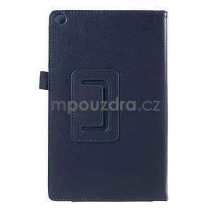 Safety polohovateľné puzdro na tablet Asus ZenPad 8.0 Z380C - tmavomodré - 3