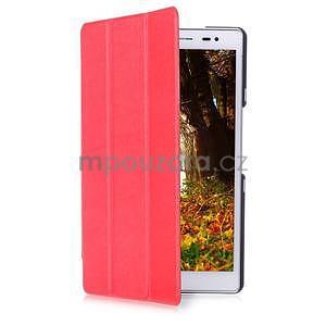 Trojpolohové puzdro na tablet Asus ZenPad 8.0 Z380C - červené - 3