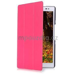 Trojpolohové puzdro na tablet Asus ZenPad 8.0 Z380C - rose - 3