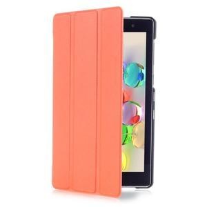 Trifold puzdro na tablet Asus ZenPad C 7.0 Z170MG - oranžové - 3