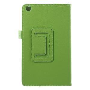 Safety koženkové puzdro pre Asus ZenPad C 7.0 Z170MG - zelené - 3