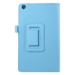 Safety koženkové puzdro na Asus ZenPad C 7.0 Z170MG - svetlomodré - 3