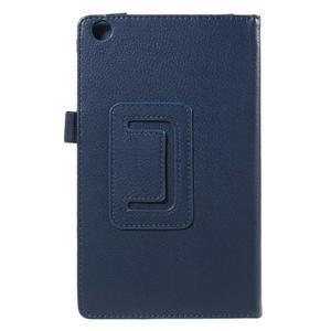 Safety koženkové puzdro pre Asus ZenPad C 7.0 Z170MG - tmavomodré - 3