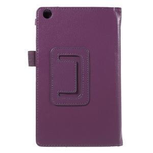 Safety koženkové puzdro na Asus ZenPad C 7.0 Z170MG - fialové - 3