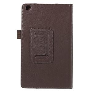 Safety koženkové puzdro na Asus ZenPad C 7.0 Z170MG - hnedé - 3
