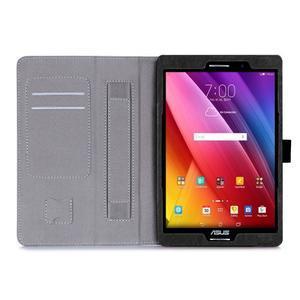 Polohovatelné koženkové puzdro na tablet Asus ZenPad S 8.0 -  čierne - 3