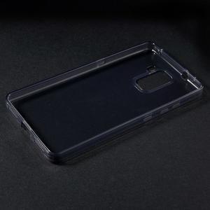 Transparentný gélový obal pre telefón Honor 7 - šedý - 3