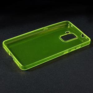 Transparentný gélový obal na telefón Honor 7 - žltý - 3