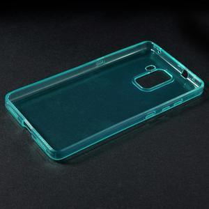 Transparentný gélový obal na telefón Honor 7 - azurový - 3