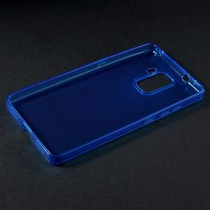 Transparentný gélový obal na telefón Honor 7 - modrý - 3