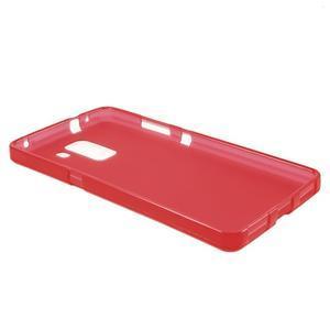 Červené gélové puzdro na mobil Honor 7 - 3