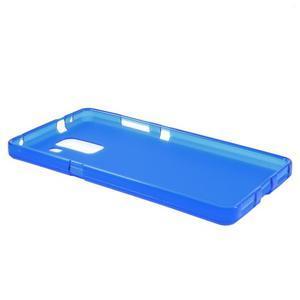 Modré gélové puzdro na mobil Honor 7 - 3