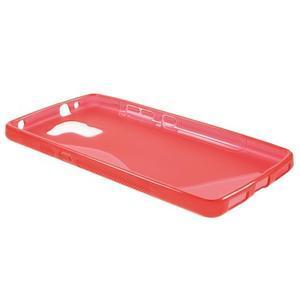 Červený gélový kryt S-line pre Huawei Honor 7 - 3