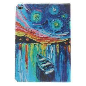 Paint štýlové puzdro pre iPad Air 2 - loďka - 3