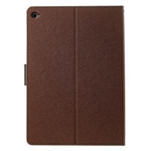 Excelent Diary puzdro pre iPad Air 2 - hnedé - 3