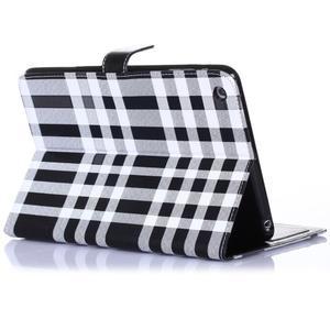 Fashion style puzdro na iPad Air 2 - čierne - 3